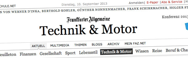 frankfurter allgemeine technik & motor